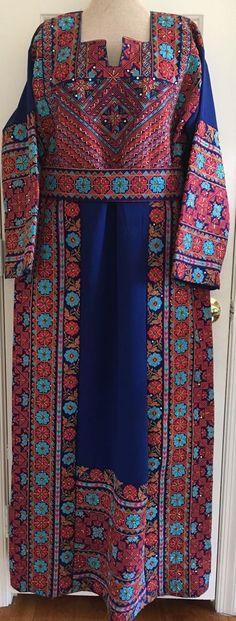 Jordano palestina Bordado Thobe Oriente Medio Mujer Vestido | Ropa, calzado y accesorios, Ropa típica y étnica, Oriente Medio | eBay!