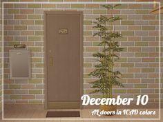 apartment life door recolors - keoni