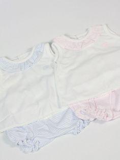 conjunto rosa y azul mellizos gemelos