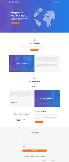 callculator-index. Web Design, Website Design Layout, App Ui Design, Web Layout, User Interface Design, Layout Design, Website Designs, Banner Design Inspiration, Layout Inspiration