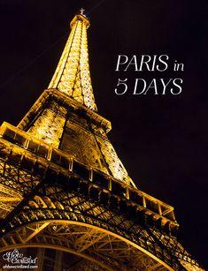 Paris in 5Days - Oh, How Civilized