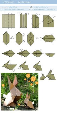 Learn about Step by Step Origami Bunny Origami, Instruções Origami, Origami Star Box, Origami Dragon, Origami Ball, Origami Fish, Origami Paper Art, Origami Butterfly, Origami Folding