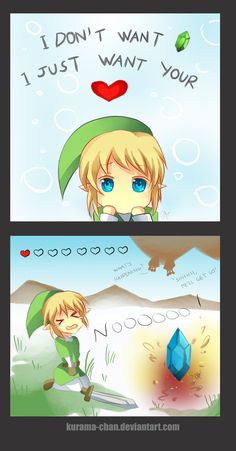 This happens to me a lot when playing Zelda. When I need hearts, I get rupees. When I need rupees, I get hearts.
