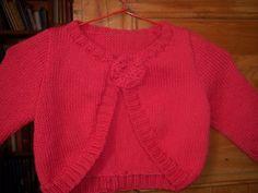 modèle tricot bolero bébé