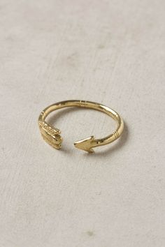arrow ring // anthropologie