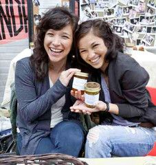 Jessica and Sabrina of The Jam Stand. Purely adorable, just like their jam!
