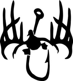 duck hook and antlers decal gift ideas pinterest
