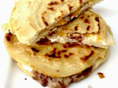 Pupusas with Curtido from El Salvador | My Colombian Recipes