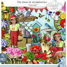 The times of strawberries Kit (PU) by Louise L