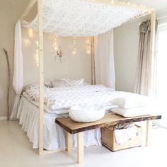Diy himmelseng bed bedroom boho bohemian