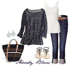 Moody Blues by Coastal Style Blog