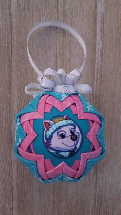 Paw Patrol Christmas ornaments will be as big a hit as Santa Claus at your house! You may want more than one of these Paw Patrol Christmas ornaments. Paw Patrol Christmas Ornaments, Diy Christmas Ornaments, Holiday Crafts, Holiday Fun, Christmas Bulbs, Holiday Ideas, Christmas Ideas, Quilted Ornaments, Felt Ornaments