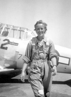 WASP pilot Florence Shutsy, WW2 ~
