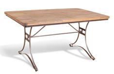 Harlem Industrial Rectangular Dining Table
