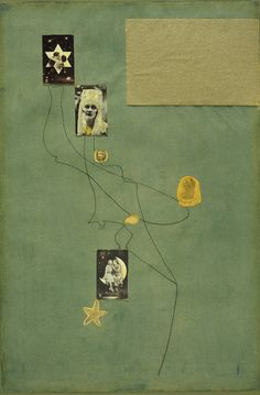 Joan Miró - Drawing-Collage, 1933