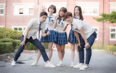 Hyun Tae-Woon, Ra Eun-Ho, Song Dae-Whee, Oh Sa-Rang, Seo Bo Ra #school2017