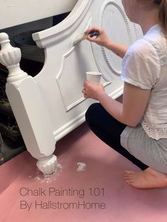 Don't struggle with chalk painting! We have lots of tips and tricks to get every piece and every floor painted perfectly. We are happy to help you create beautiful furniture. Painted Bedroom Furniture, Chalk Paint Furniture, Refurbished Furniture, How To Whitewash Furniture, Antique Furniture, Chalk Paint Table, Chalk Paint Projects, Wooden Furniture, Wood Projects