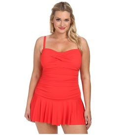 lauren-by-ralph-lauren-bright-coral-plus-size-laguna-solids-twist-shirred-skirted-slimming-fit-one-piece-pink-product-2-873041267-normal
