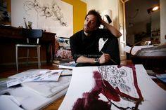Milan Drawer, Designer, Artist, Dreamer~ Daniel Egneus