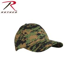 Rothco Low Profile Cap - Woodland Digital. Quality tested and ensured for maximum durability. Designed with only the toughest, roughest users in mind. Comfort and performance come hand in hand with rothco.
