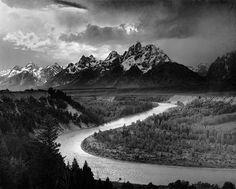 Ansel Adams B//W Photo Grand Teton Mural Project #3 Wall Picture 8x10 Art Print