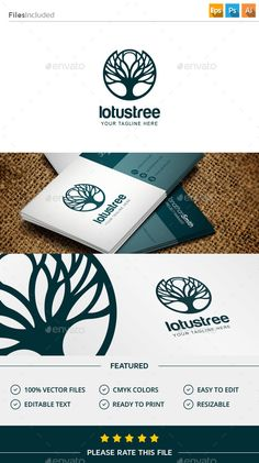 Tree Logo  PSD Template • Download ➝ https://graphicriver.net/item/tree-logo/11508763?ref=pxcr