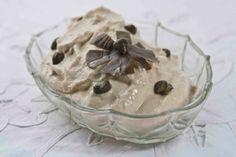αφράτη-ταραμοσαλάτα-με-λάδι Appetisers, Dips, Salads, Pudding, Ice Cream, Snacks, Lent, Cooking, Desserts