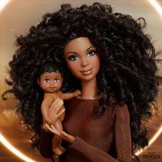 Beautiful Barbie Dolls, Vintage Barbie Dolls, Pretty Dolls, Barbie Life, Barbie World, Diva Dolls, Dolls Dolls, Barbie Family, African American Dolls