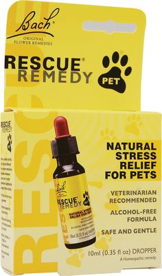 Bach Flower Remedies Rescue® Remedy Stress Relief For Pets