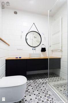 Skandynawska łazienka - zdjęcie od Hoom - Łazienka - Styl Skandynawski - Hoom