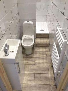 Best Small Apartment Bathroom Decoration Ideas - Home .- Beste kleine Wohnung Badezimmerdekoration Ideen – Hause Deko Ideen Bathroom arşivleri – home decorating ideas - Tiny Bathrooms, Tiny House Bathroom, Bathroom Design Small, Bathroom Layout, Bathroom Interior Design, Amazing Bathrooms, Modern Bathroom, Bathroom Designs, Simple Bathroom