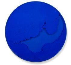 """#Cercle_bleu_outremer"", #2013 #Manuel_Merida Courtesy #ESPACE_MEYER_ZAFRA #SOLOPROJECTS #ARCO2014"