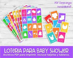 8 Best Juegos Baby Shower Images Baby Shower Bingo Card Stock
