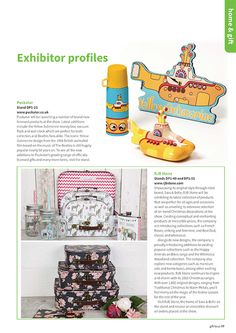 Gift Focus Magazine Issue 90 July / August 2015 featuring our Officially Licensed Beatles Yellow Submarine Range with Clock, Flask and Moneybox