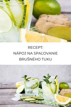Recept na nápoj, ktorý spaľuje tuky Bikini Fitness, Fresh Rolls, Smoothie, Harry Potter, Fruit, Ethnic Recipes, Food, Diet, Smoothies