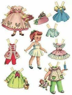 Paper Dolls Printable, Printable Vintage, Paper Doll Template, Vintage Paper Dolls, Vintage Crafts, Paper Toys, Free Paper, Craft Activities, Vintage Images