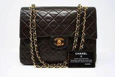 5e993b12fd Vintage Chanel Square Double Flap Handbag at Rice and Beans Vintage Chanel  Double Flap, Vintage