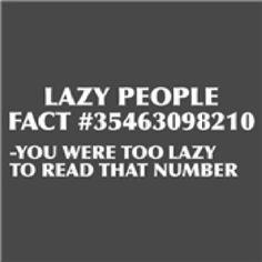 This got me! I guess I'm lazy!