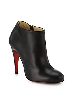 Christian Louboutin Calf Leather Ankle Boots. Need these for fall