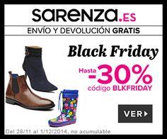 Black Friday sarenza