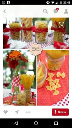 21 Ideas For Party Ideas Engagement Rehearsal Dinners Italian Party Decorations, Italian Bridal Showers, Italy Table, Italy Party, Italian Themed Parties, Best Party Appetizers, Chef Party, Pasta Bar, Kitchen Shower
