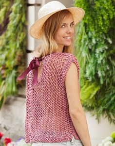 Book extra 16 Spring / Summer | 478: Woman Sweater | Mauve-Gold