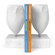 {owl bookends} by Jonathon Adler - love the retro minimalist vibe!