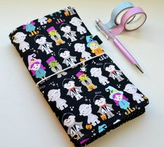 IN STOCK - Fabric Cover Fauxdori, Travelers Notebook, Cover fabric, A6 A5 size…