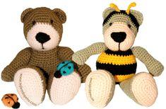 Amigurumi - Tejiendo Perú Crochet Teddy, Crochet Bear, Crochet Home, Crochet Animals, Crochet Dolls, Crochet Videos, Hand Knitting, Teddy Bear, Stitch