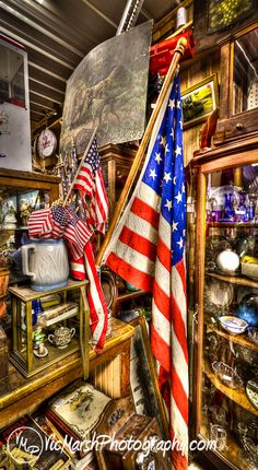 Old Glory in the Country Store