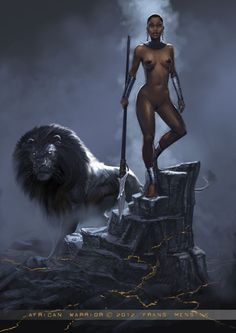 frans mensink deviantart | Female African Warriors