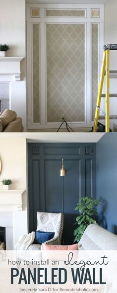 575 best Walls images on Pinterest in 2018 | Diy ideas for home, Diy ...