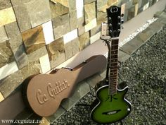Calligraphy Series variant Water by Cc Guitar. www.ccguitar.net