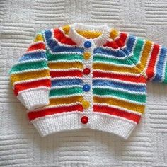 Welcome to nginx! Baby Boy Knitting Patterns Free, Baby Sweater Knitting Pattern, Baby Sweater Patterns, Knitted Baby Cardigan, Knit Baby Sweaters, Knitting For Kids, Baby Patterns, Baby Hut, Knitted Bunnies